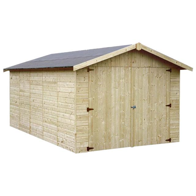 Garage en bois Garove