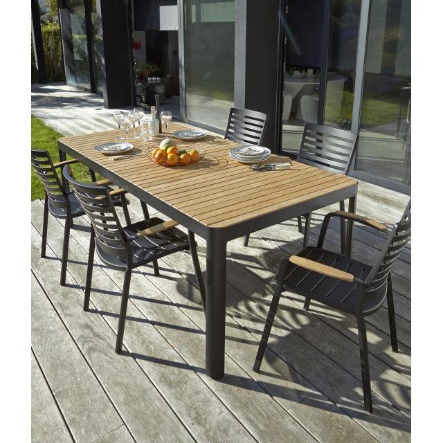 Table de jardin Castorama Sur Iziva - Iziva.com