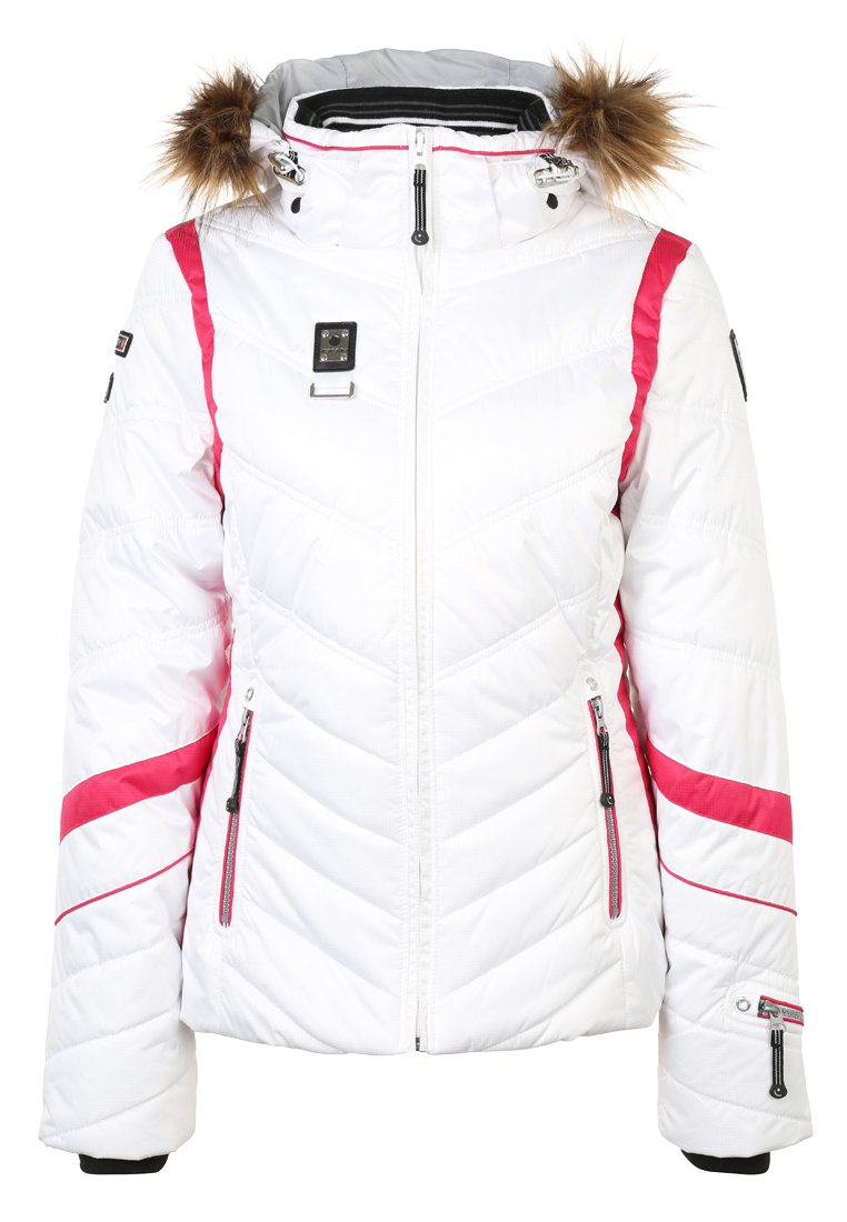 Zalando De Veste Icepeak Weiss Ski Femme Odda zTqxCp