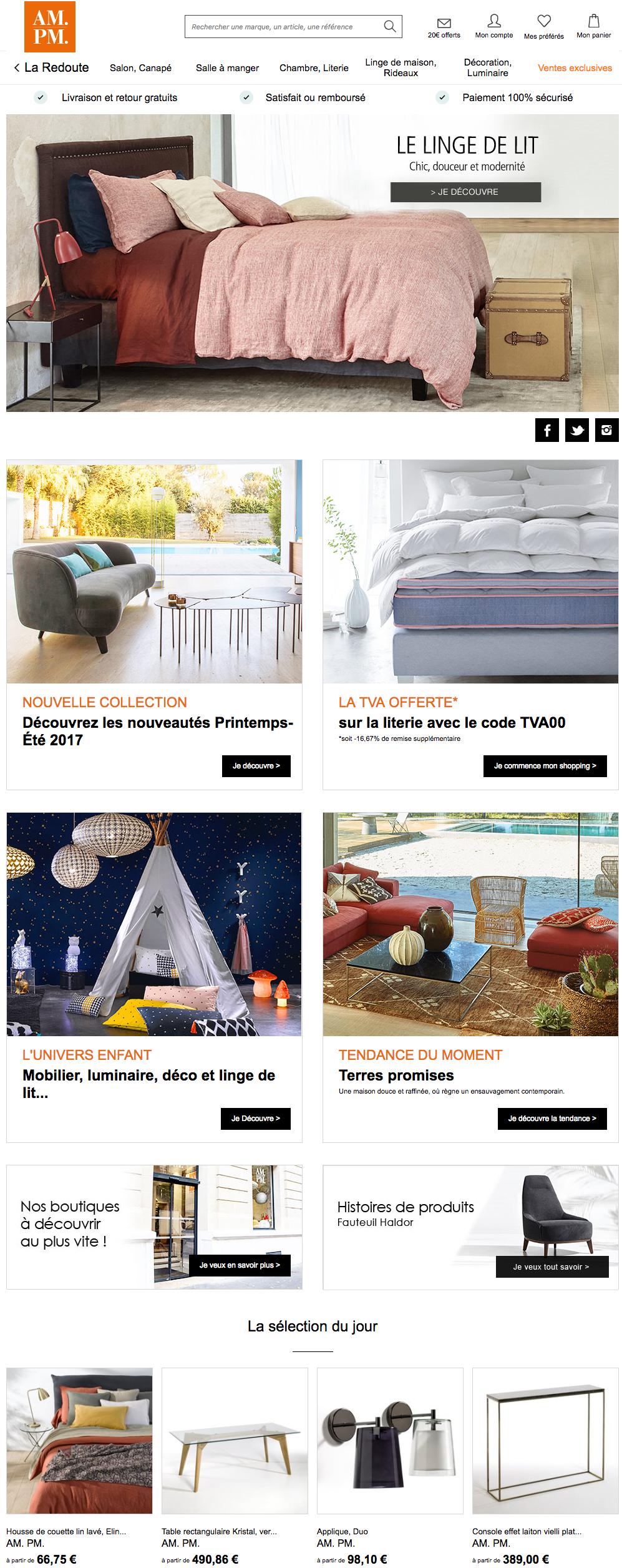 am pm accessoires d coration maison am pm cuisine am pm. Black Bedroom Furniture Sets. Home Design Ideas