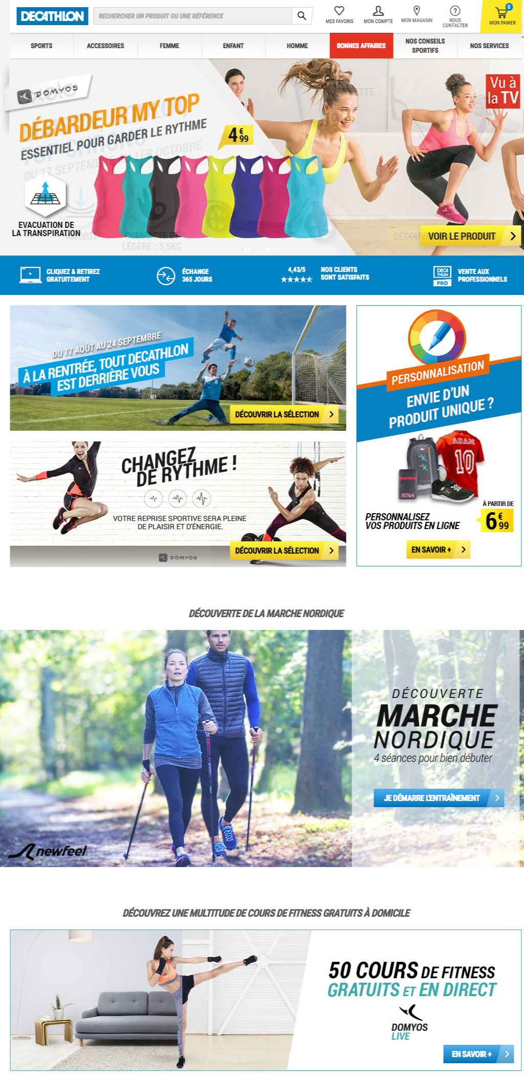Articles de sport Decathlon Achat Vente à prix pas cher