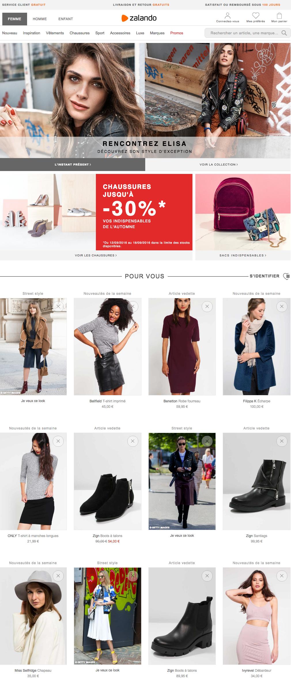 Chaussures et vêtements homme | Zalando Promotions
