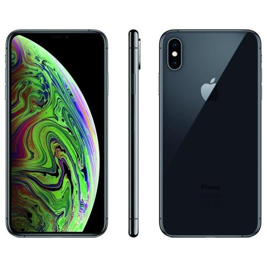 Apple iPhone XS Max 64 Go 6,5 Gris sidéral