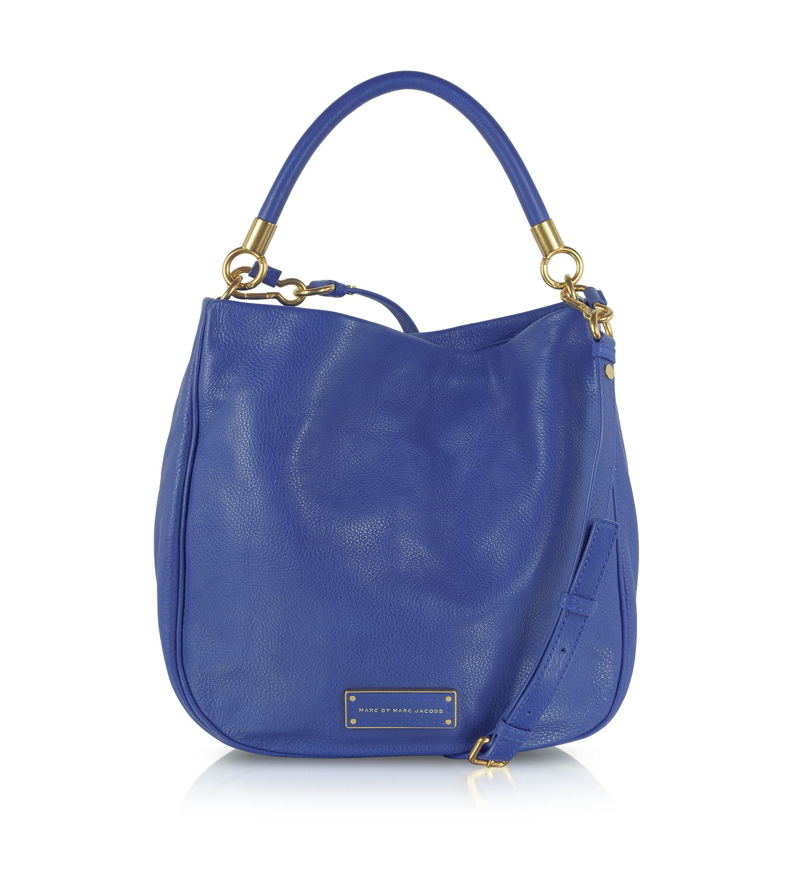 Forzieri - Too Hot To Handle Bauhaus Sac en cuir bleu Marc by Marc Jacobs 89bd851921e3