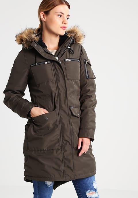 Khujo BALM Veste d hiver dark olive - Veste d hiver Femme Zalando ... 0d44e57ea2a5