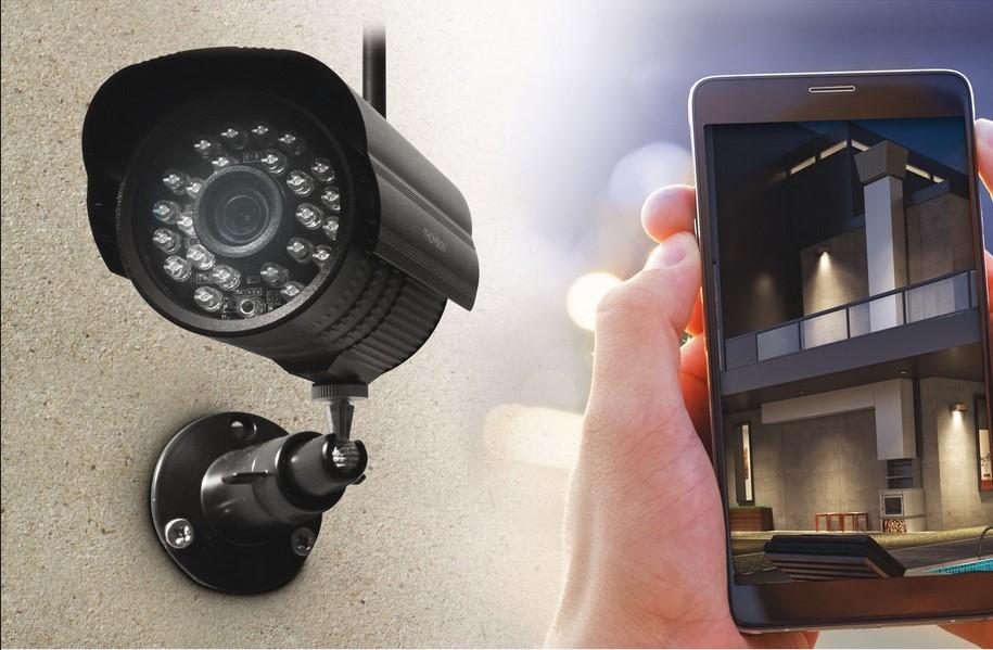 Kit De Vidéosurveillance Connecté Sans Fil Thomson Dvr423b