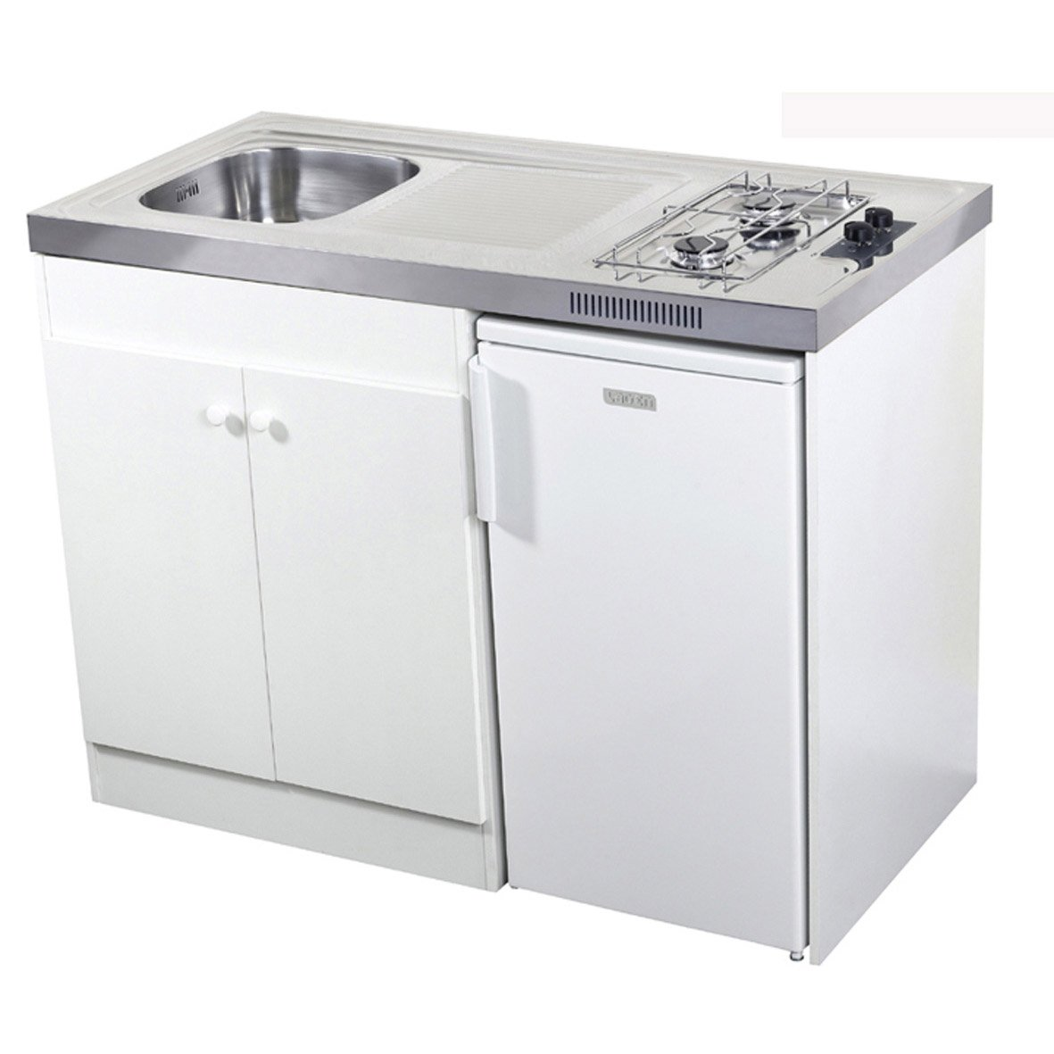 Kitchenette Gaz Blanc Spring Kitchenette Leroy Merlin