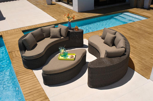 Carrefour Salon Bas Modulable Sumatra Salon De Jardin Carrefour