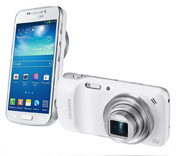 samsung galaxy s4 zoom blanc photophone compact pixmania. Black Bedroom Furniture Sets. Home Design Ideas