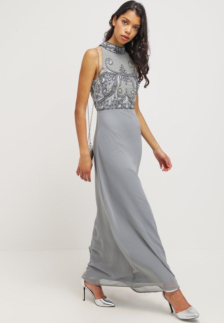 Lace & Beads PHILIPA Robe de cocktail light grey Robe de