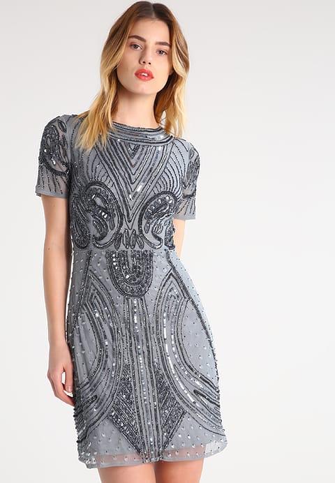 new product pretty cheap 100% authentic Lace & Beads TARA Robe de soirée grey - Robe de soirée ...