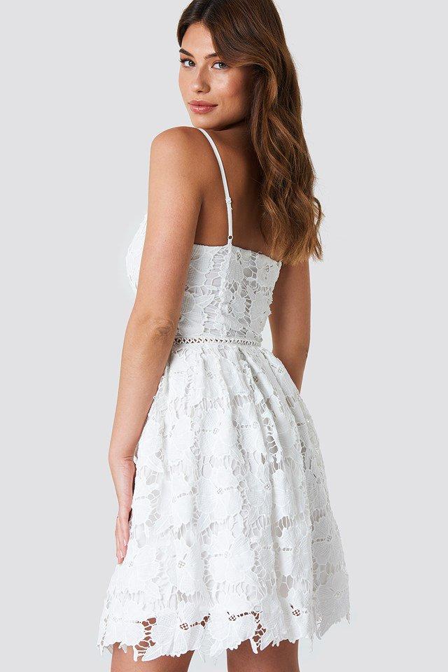 Lace Strap Dress Boho NA-KD