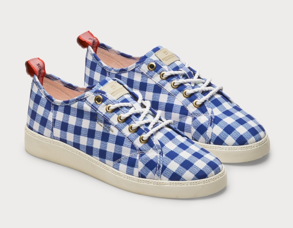 Scotch & Soda Laurite Sneakers vichy
