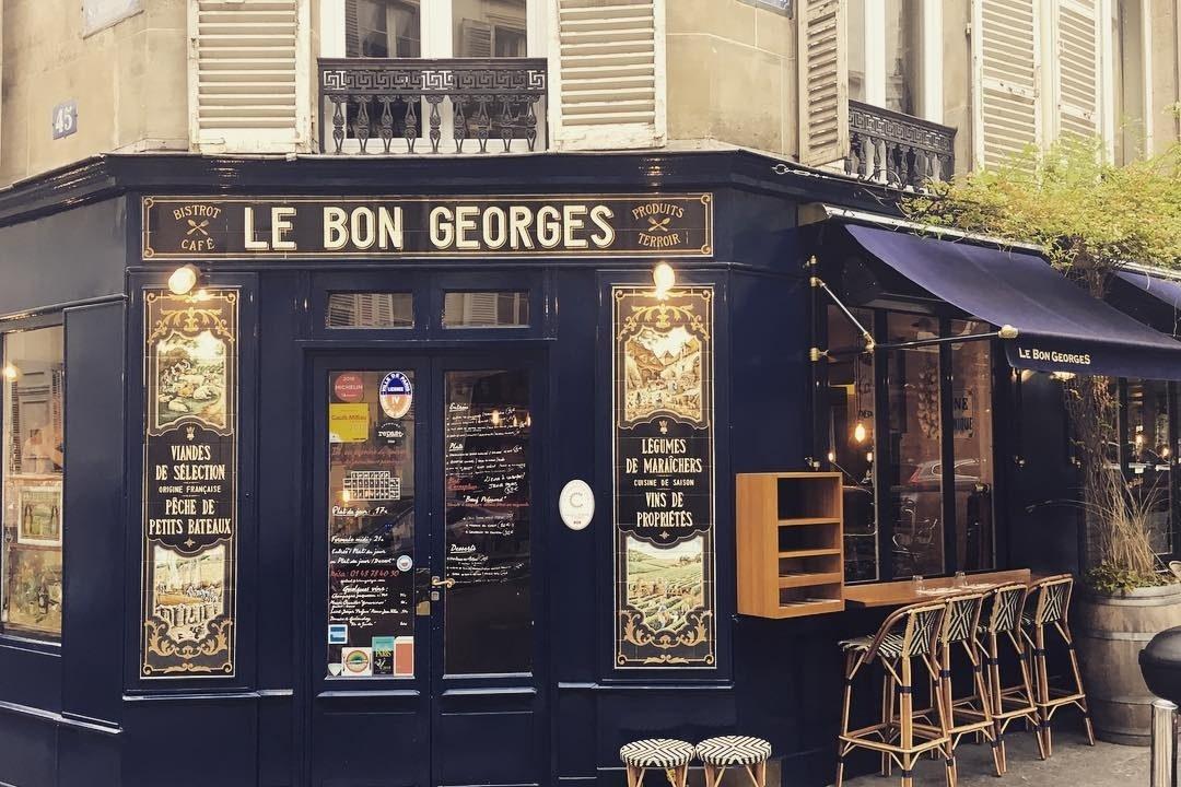 Restaurant Le Bon Georges 75 009 Paris