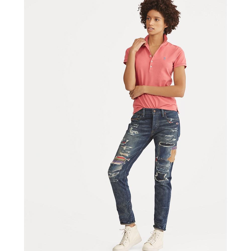 Femme Jeans Polo Lauren Avery Boyfriend Jean Ralph Yy6gvb7f