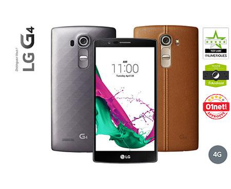 LG G4 Cuir Noir