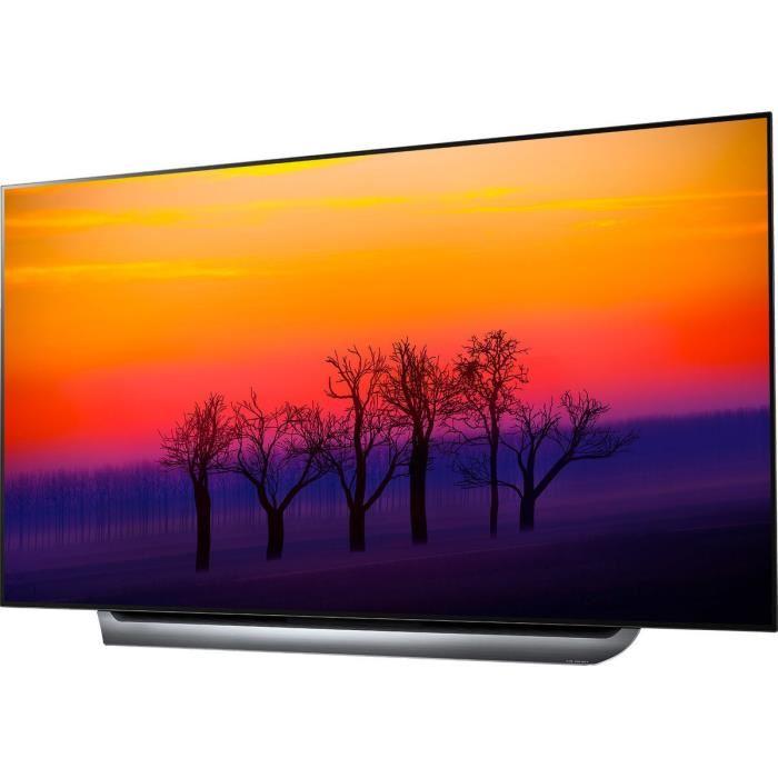 LG OLED65C8 TV OLED 4K UHD 164cm  - Cdiscount