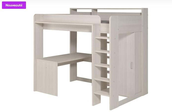 ensemble boxspring relaxation electrique 160x200cm monaco literie auchan. Black Bedroom Furniture Sets. Home Design Ideas