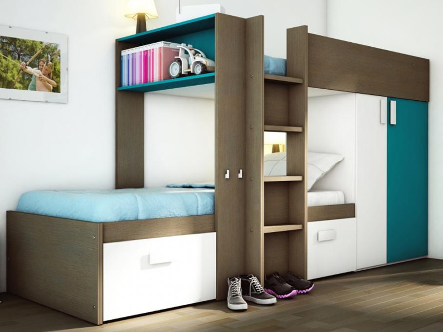 achat lit superpos pas cher. Black Bedroom Furniture Sets. Home Design Ideas