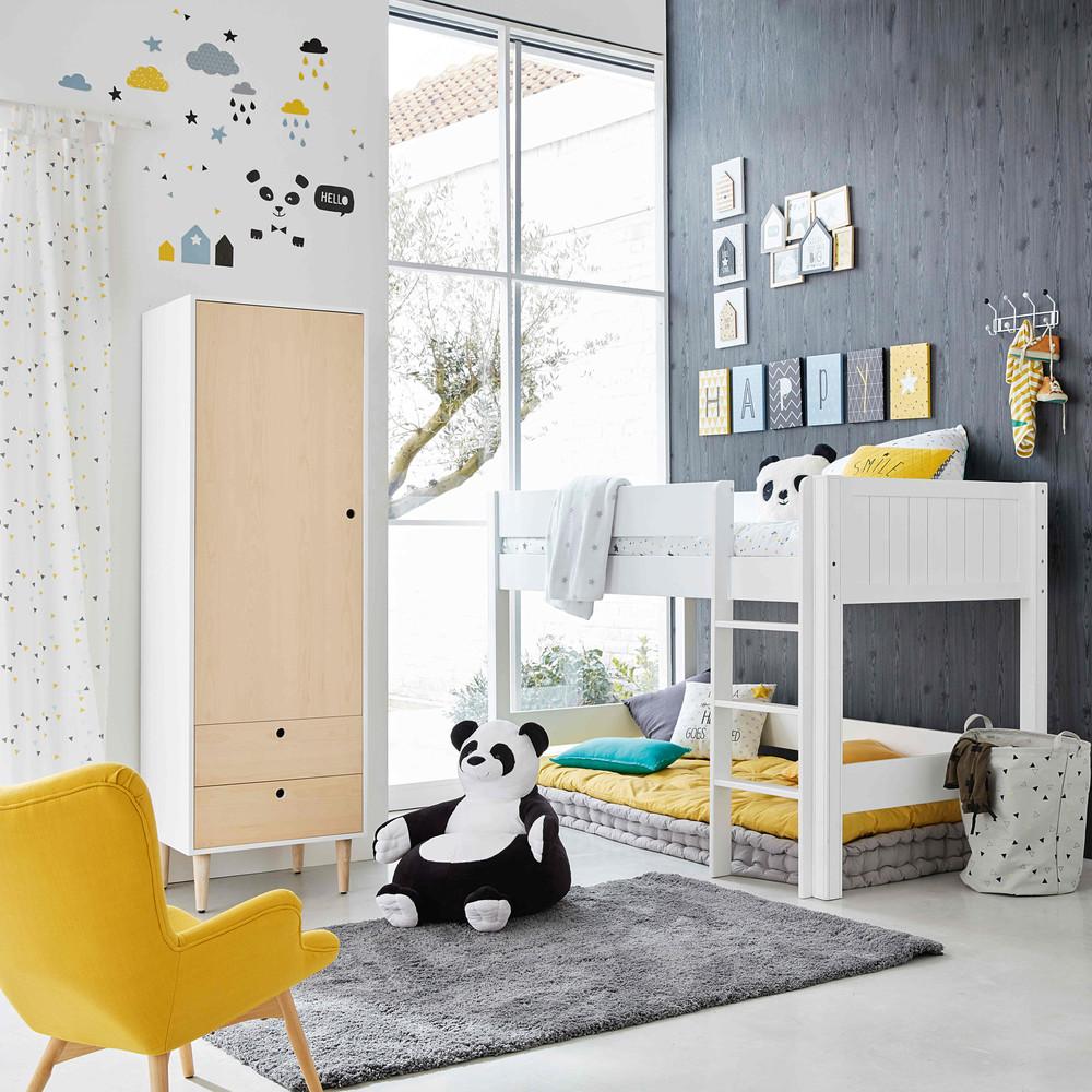 lit la maison de valerie ensemble lit mezzanine 90 cm castello. Black Bedroom Furniture Sets. Home Design Ideas