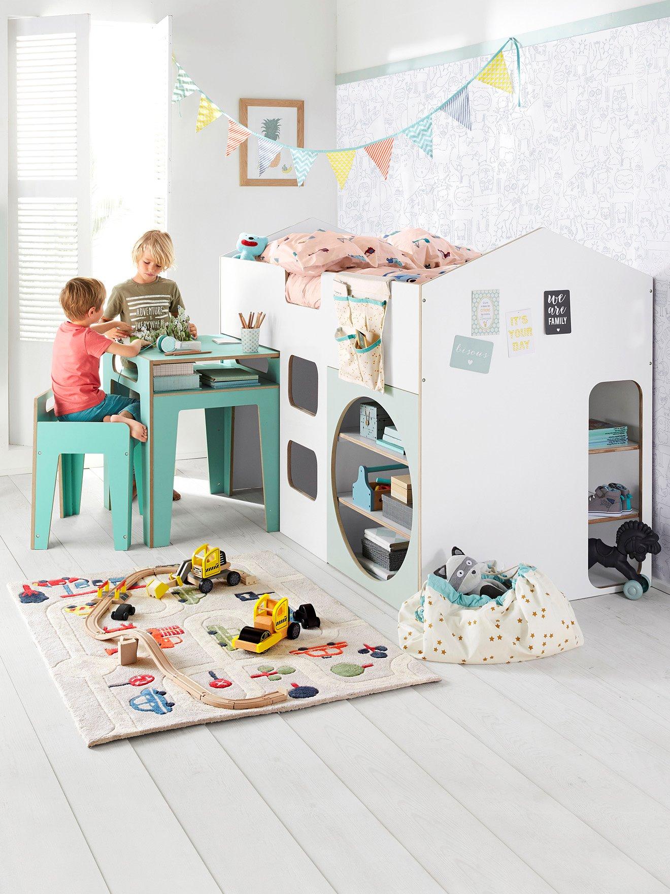 lit double sommier 90 x 200 cm nathan lit la maison de valerie. Black Bedroom Furniture Sets. Home Design Ideas