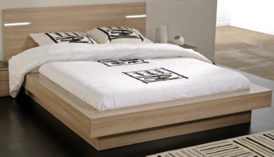 lit adulte camif lit perrine. Black Bedroom Furniture Sets. Home Design Ideas