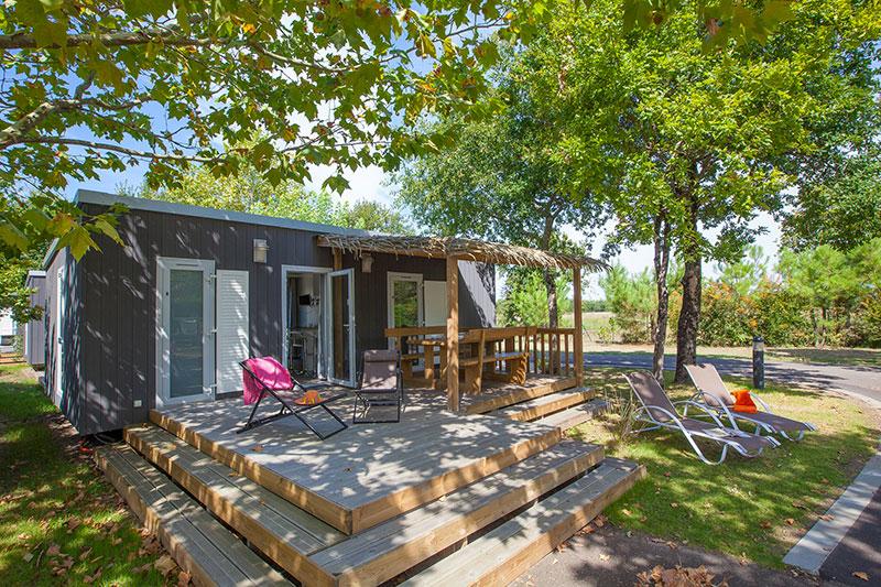 Camping La Rive 5* à Biscarrosse dans Les Landes