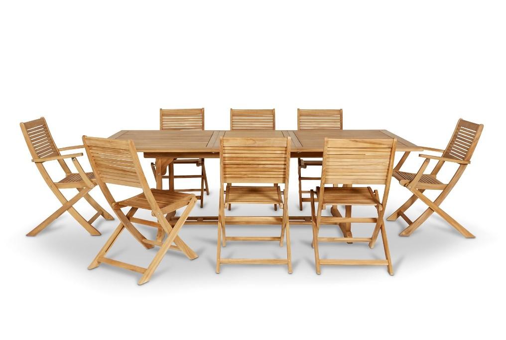 Lot Table De Jardin Roscana 2 Lots De Chaises De Jardin