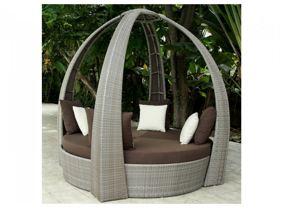 pergola vente unique loveuse coconut en r sine tress e prix 999 00 euros. Black Bedroom Furniture Sets. Home Design Ideas