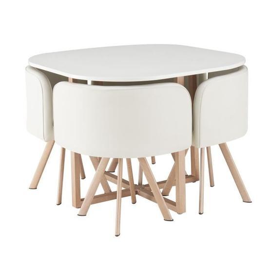 Cdiscount Table De Cuisine Plus Chaise Technologyreports Net