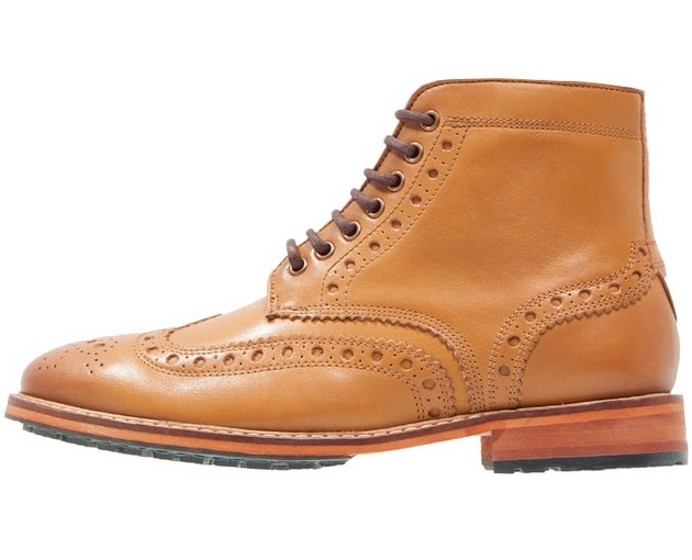 Lyle & Scott DEVERON Bottines à lacets tan