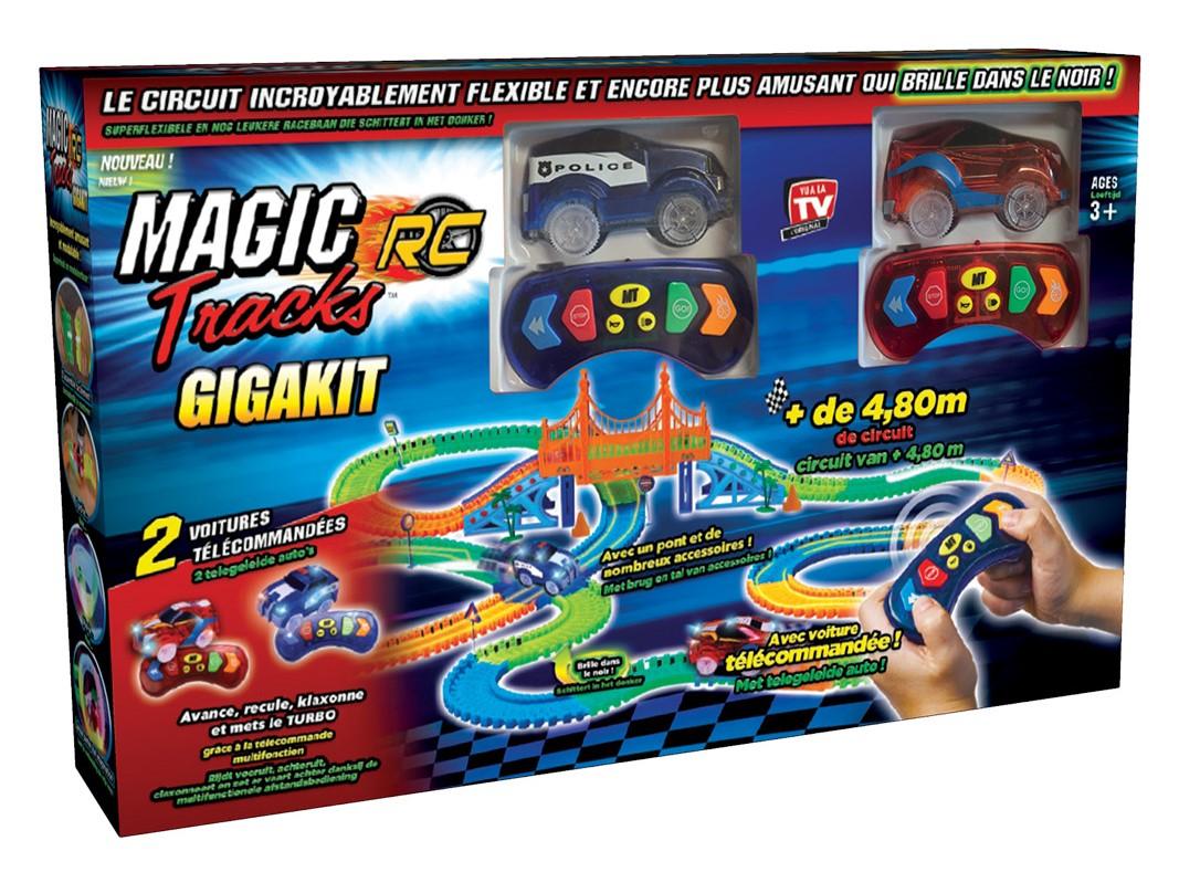 Rc Set Circuit Télécommandé Mega Turbo De Voitures Magic Tracks qpzSUMV