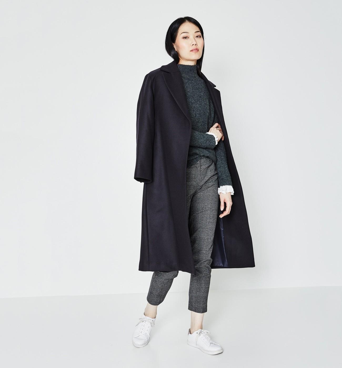 Veste drap de laine femme
