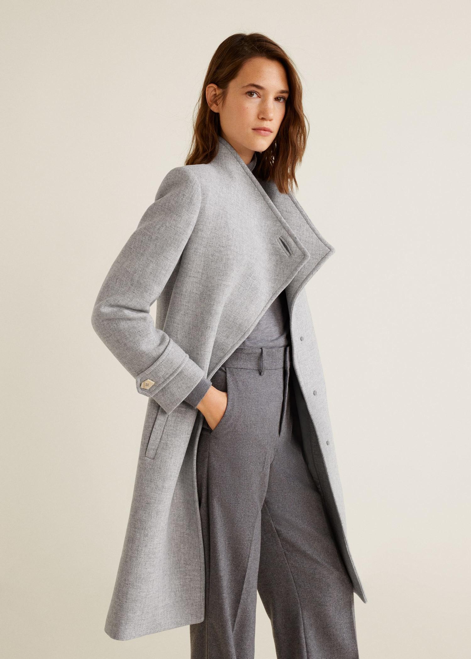Manteaux femme laine capuche