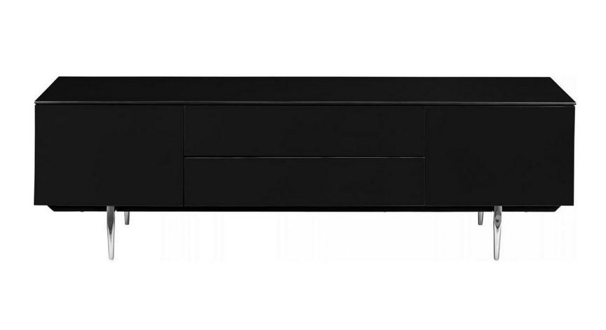 Mariano Meuble TV Design Laqué noir Habitat