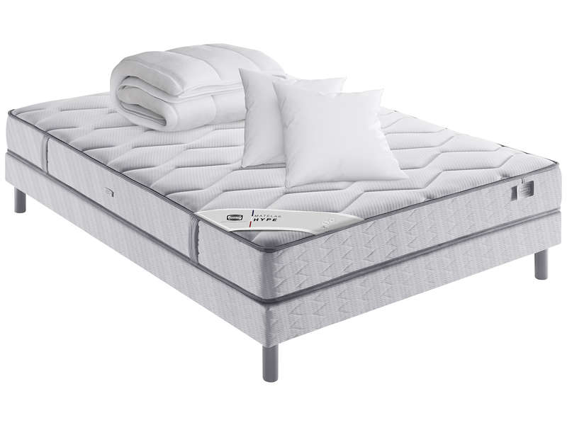 Matelas + sommier ressorts 140x190 cm SIMMONS INTEGRAL