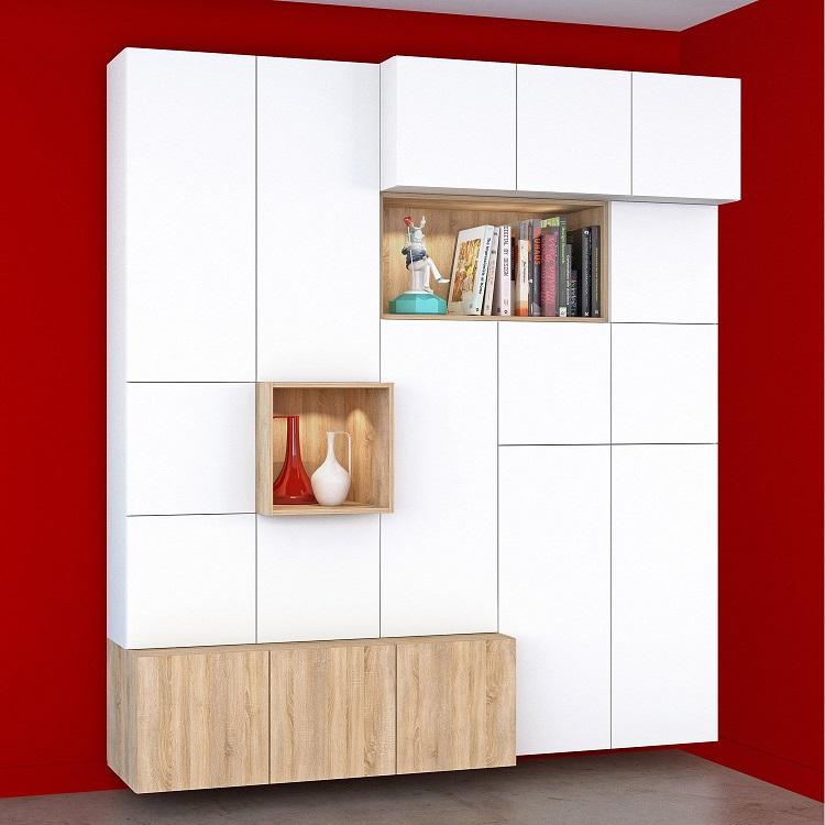 Meuble De Rangement Spaceo Home Dressing Leroy Merlin Iziva Com