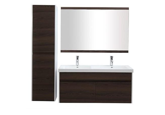 Meubles de salle de bains GANFO avec double vasque pas cher ...
