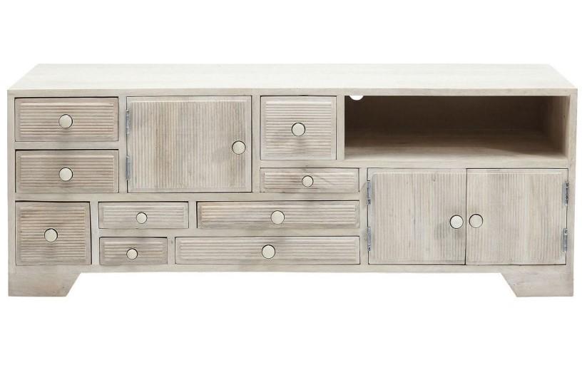 Meuble tv ethnique en bois linear kare design meuble tv kare design - Meuble kare design ...