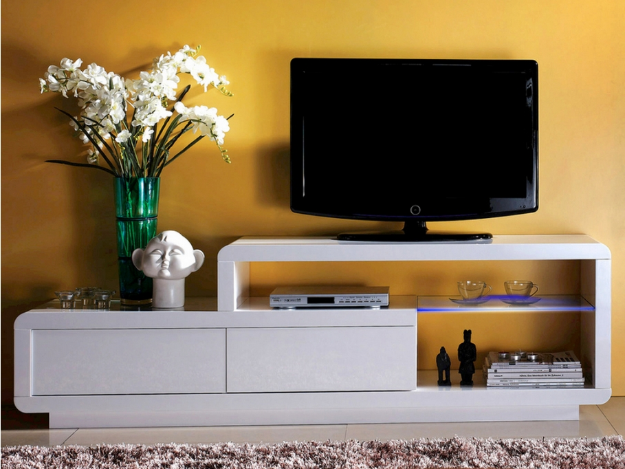Meuble TV LIAM - Meuble Tv Vente Unique - Iziva.com