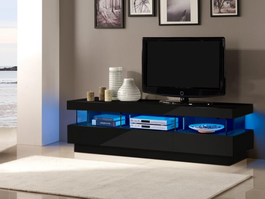 Meuble TV FABIO - Meuble TV Vente Unique - Iziva.com