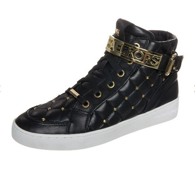 d40dcc0b076 MICHAEL Michael Kors ESSEX HIGH TOP Baskets montantes noir - Baskets Femme  Zalando
