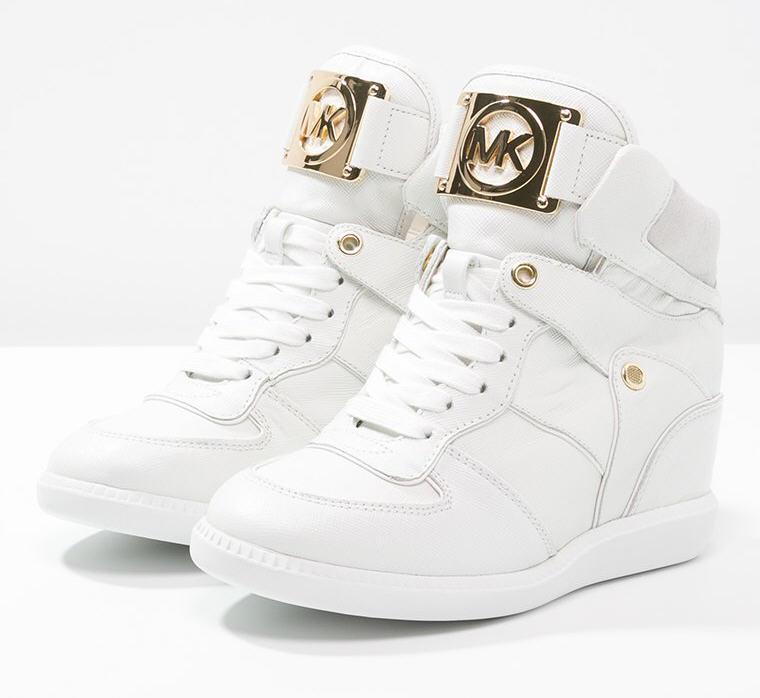 e09208ab592 MICHAEL Michael Kors NIKKO Baskets montantes optic white