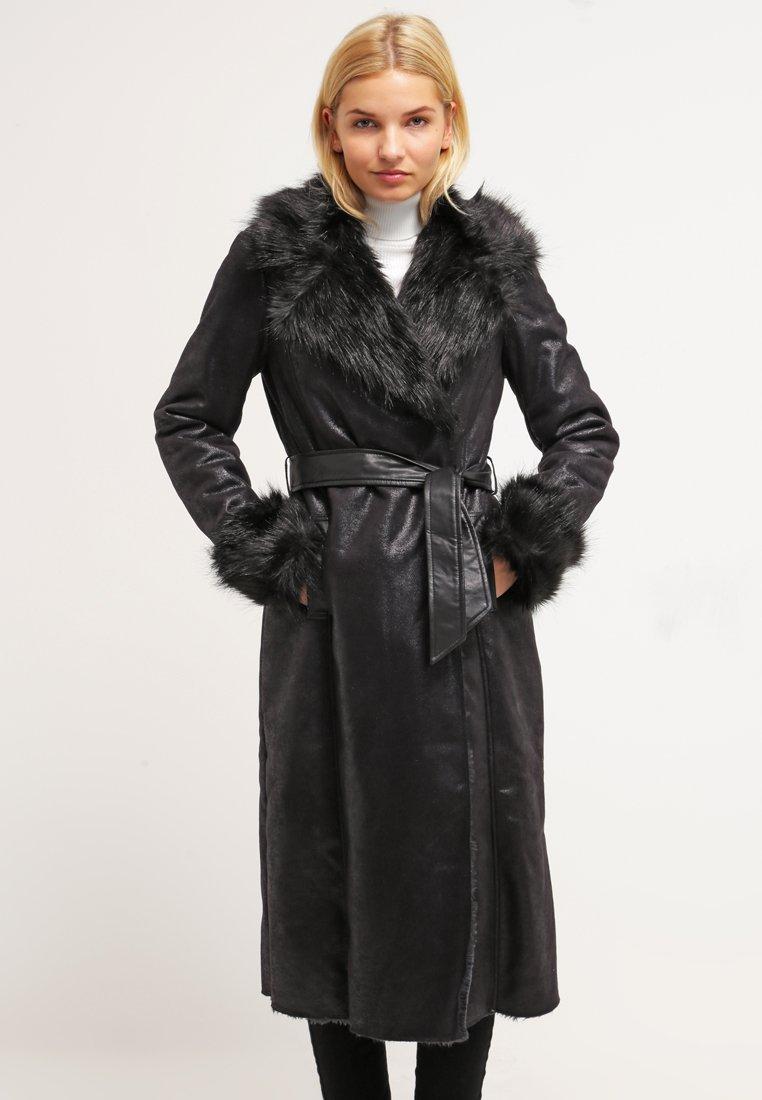 Gemia Manteau Noir Classique Zalando Femme Morgan p4qdgw4