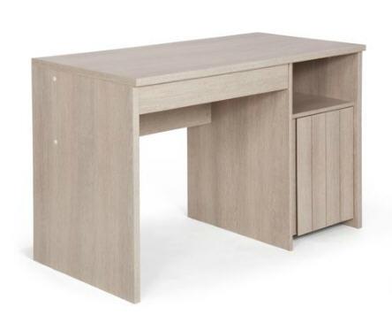 Bureau alinea bureau junior à tioir naturela meubles iziva