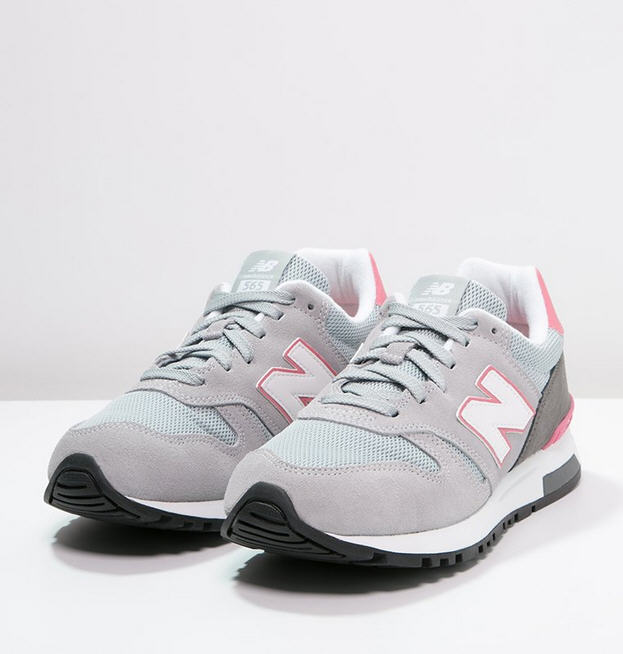 New Balance WL565 Baskets basses grey - Baskets Femme Zalando ...
