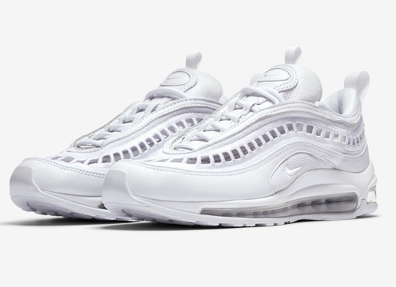 newest 47970 4e24a Nike Air Max 97 Ultra '17 SI pas cher - Baskets Femme Nike - Iziva.com