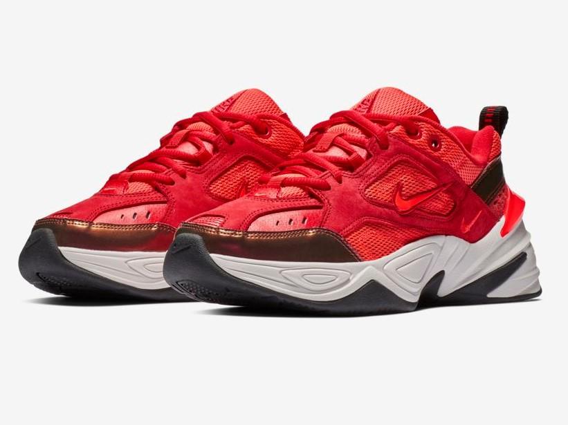 Nike M2K Tekno Mesh Rouge université/Phantom/Cramoisi brillant pour Femme