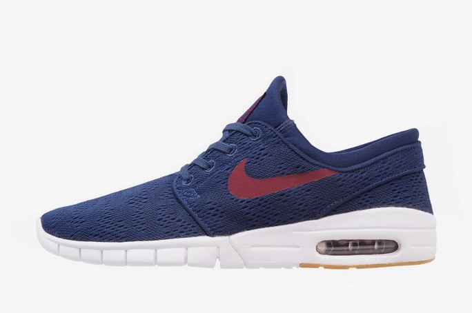 Nike SB STEFAN JANOSKI MAX Baskets basses binary blue/team red/light brown - Zalando