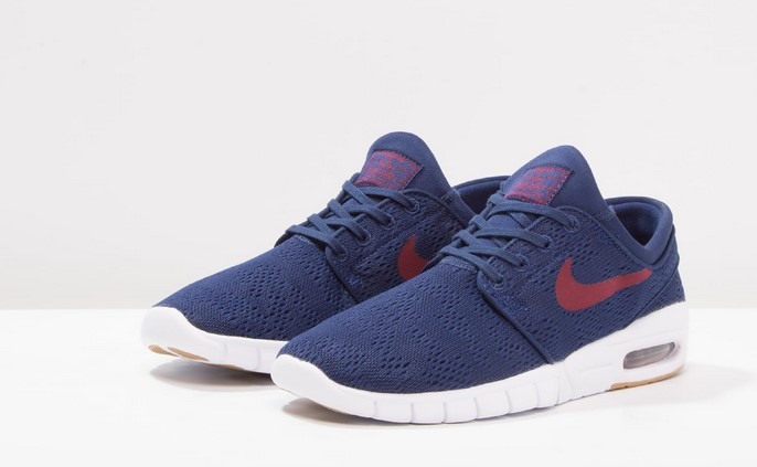 size 40 6798a 46c16 Nike SB STEFAN JANOSKI MAX Baskets basses binary blue team red light brown -
